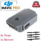 New 3830mAh Intelligent Flight Battery Part And 4x PROPS Part For DJI Mavic Pro