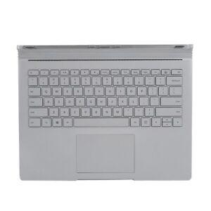 Tastatur-Notebook-Keyboard-Notebooktastatur-1705-silber-fuer-Surface-Book-DE