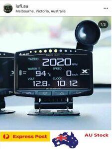 Lufi X1 (w/ Optional shift light) - Defi style OBD2 Boost gauge/multi-gauge