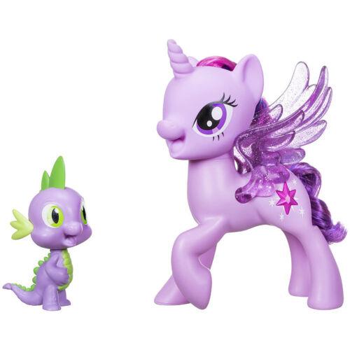 Hasbro Singende Spielfiguren von My little pony Twilight Sparkle und Spike