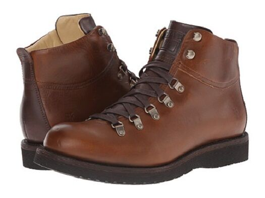 New in Box FRYE Mens Evan Hiker Combat Boot Whiskey 8.5 M US MSRP   368