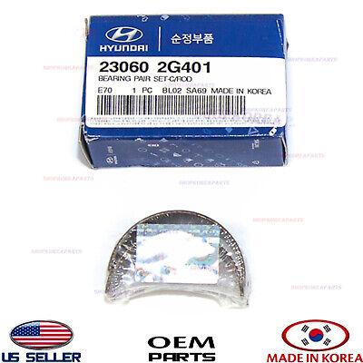 Pair Genuine Hyundai 23060-2G110 Connecting Rod Bearing Set