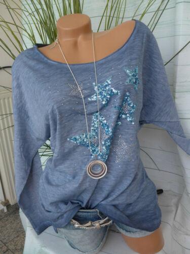 Heine B.C Bluse Shirt Schlupfbluse Gr Oil Wash Optik NEU 34 bis 46 919