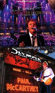 PAUL McCARTNEY 2007 LIVE ARCHIVE COLLECTOR'S DAP 2titles SET Press 4CD+2DVD