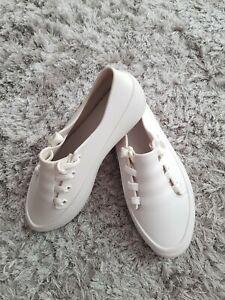 Melissa-Sneakers-White-Size-7