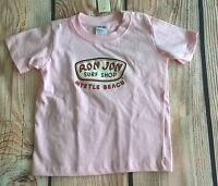 Ron Jon Surf Shop Girls 18 Months Pink Myrtle Beach Tee Shirt