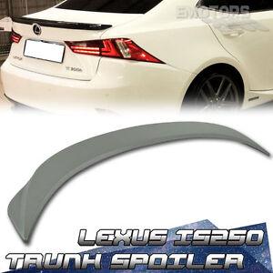 For Lexus IS250 IS350 IS F F Type Trunk Lip Spoiler Wing Unpainted SHIP FROM LA