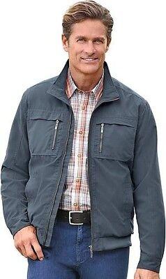 jeans jacke in blousonform