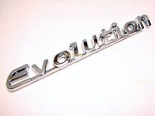 New Mitsubishi Lancer EVOLUTION EVO 8 9 Rear Chrome Emblem Decal 3M Adhesive