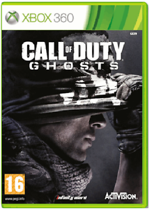 XBOX-360-CALL-OF-DUTY-GHOSTS-cod-Nuovo-e-Sigillato-UFFICIALE-STOCK-Regno-Unito