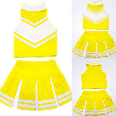 7dc07cc2108 Little Girl Kids Children/Cheerleader/Uniform/Costume/Outfit Halloween Size  2-16   eBay