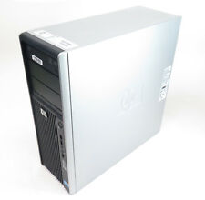 HP Workstation Z400 Quad Core Xeon Home Server Desktop PC 3 2ghz 8gb