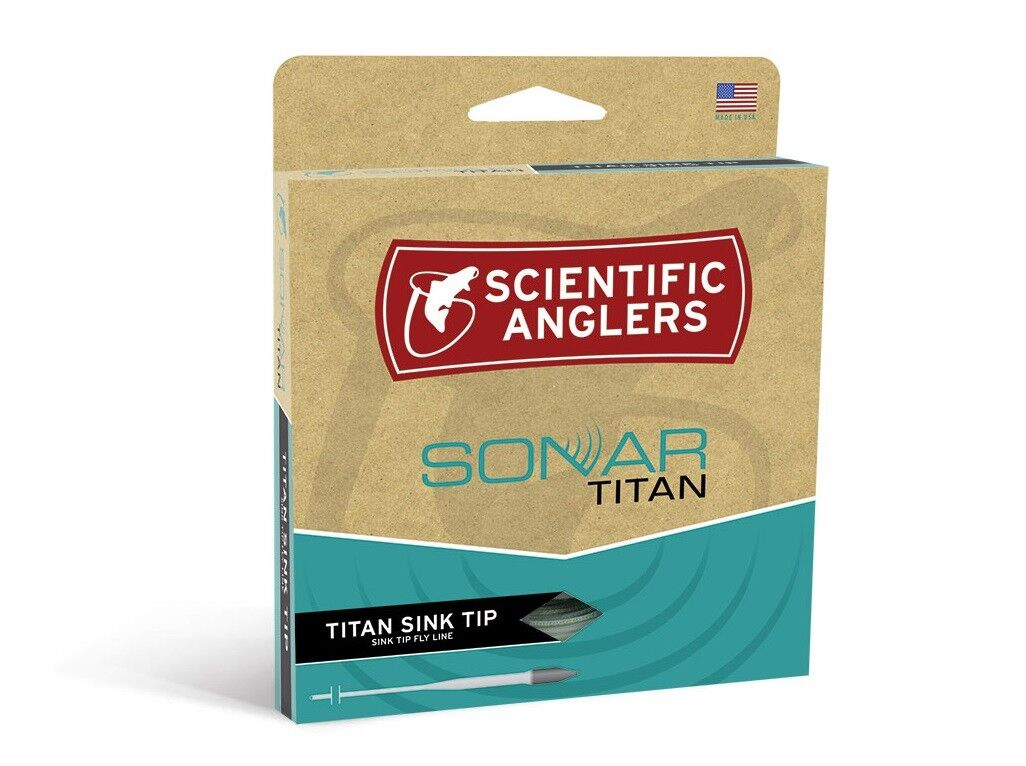 Scientific Anglers Sonar Titan Sink Tip Fly Line - WF7F S3 - Type 3 Sinking