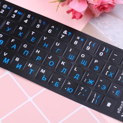 Russian standard keyboard layout sticker letters on replacementk6