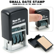 S 300 Mini Date Stamp Self Inking Rubber Stamp Stationery Business Office Tools