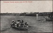 cartolina TARANTO panorama di..preso dal mare
