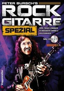 Peter-Bursch-039-s-Rock-Gitarre-Spezial-mit-CD
