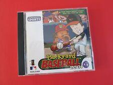 Backyard Baseball 2001 Windows Mac 2000 Ebay