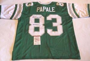 aa91bb57847 Image is loading Vince-Papale-Autographed-Philadelphia-Eagles-Jersey -INVINCIBLE-JSA-