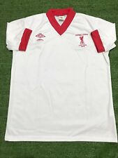 "Liverpool 1977-78 Away FOOTBALL LEAGUE CUP FINAL Retro Shirt( Size XL46"")"