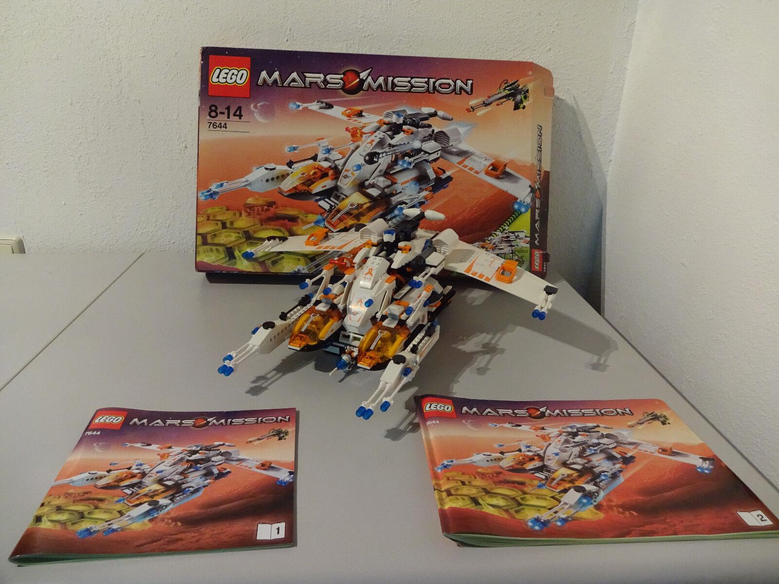 TB  LEGO 7644 MARS MISSIONE Nave Spaziale mx-81 con conf. ORIG. & BA 100%