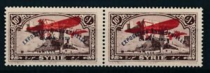 2524-French-colonies-airmail-good-pair-very-fine-MNH-stamps