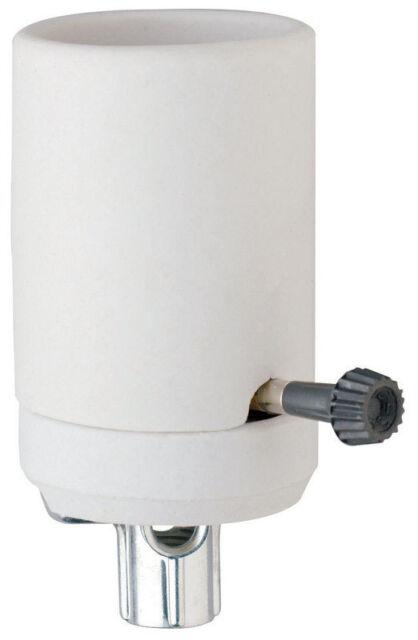 Pass & Seymour  Turn Knob Socket  750 watts 250 volts Mogul  White