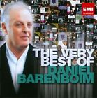 The Very Best of Daniel Barenboim (CD, Jul-2012, 2 Discs, EMI Classics)