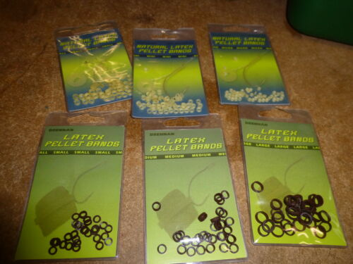 DRENNAN latex appât bandes naturel marron 3 x Packs