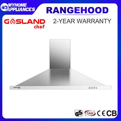 Details about  GASLAND chef 900mm Hood Rangehood 90cm Wall Mounted Kitchen Canopy LED Light
