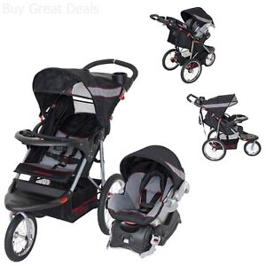 Image Is Loading Baby Trend Expedition Jogger Travel System Millennium 3in1