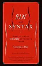 Sin and Syntax by Constance Hale (2001, Paperback)