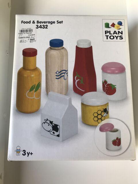 Plan Toy Food And Beverage Set 3432 Toys For Sale Online Ebay