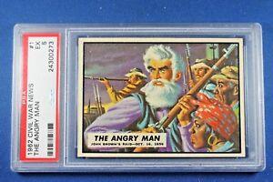 1962-Topps-Civil-War-News-1-034-The-Angry-Man-034-PSA-5-Ex