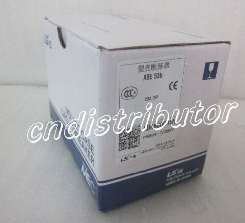 1-Year Warranty ! New In Box LS Circuit Breaker ABE53b 20A QTY 3 Per Lot