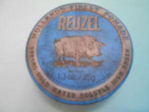 Reuzel-Pomade-35-gr-fester-Halt-Reisegroesse-Die-Blaue-100g-25-57-E