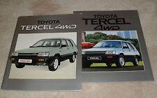Toyota Tercel 4WD Brochure 1984-1985