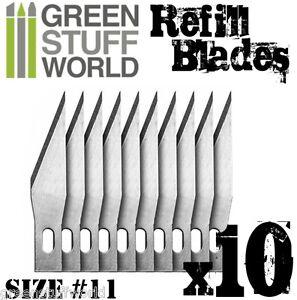 Set-10x-Hojas-Recambio-Cutter-Modelismo-Herramientas-Hobby-Warhammer-cuchillas