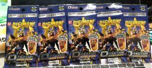Bandai Digimon D-Tector Card Game Packs Series 4 Lot of 5 Packs Factory Sealed