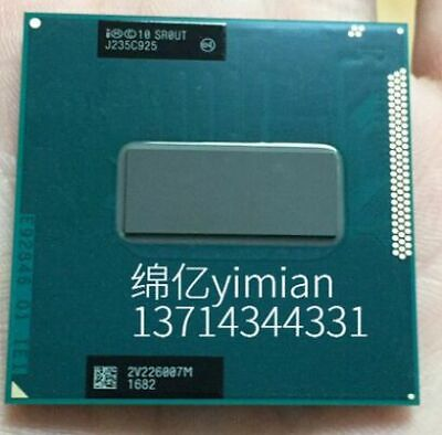 Intel Core i7 3840QM 2.8 GHz Quad-Core CPU Processor SR0UT