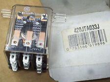 *NEW* GENERAL ELECTRIC GE RELAY CR420JTA033J 13 AMP 120 VAC COIL