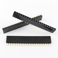 10pcs 254mm Pitch 20 Pin Female Single Row Straight Header Strip Ph 85mm