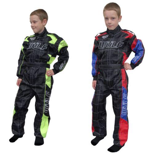 New Wulfsport Kids Race Suit Overalls Quad Bike MotoX Paddock Suit Grand Prix