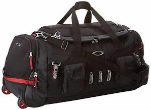 New Men S Oakley Hot Tub Bag 92550 001 Black Duffle Bag