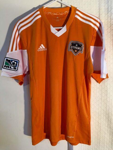 af1cf4e84d6 adidas Authentic MLS Jersey Houston Dynamo Team Orange Sz M for sale ...