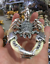 Teeth-of-wolves-Tibetan-silver-Scorpion-Pendant-decorate-Statues miniature 8
