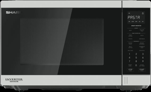 NEW Sharp R350EW 1200W Inverter Microwave - White