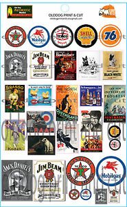 NSWGR-australian-American-type-stickers-billboards-advertising-and-signs