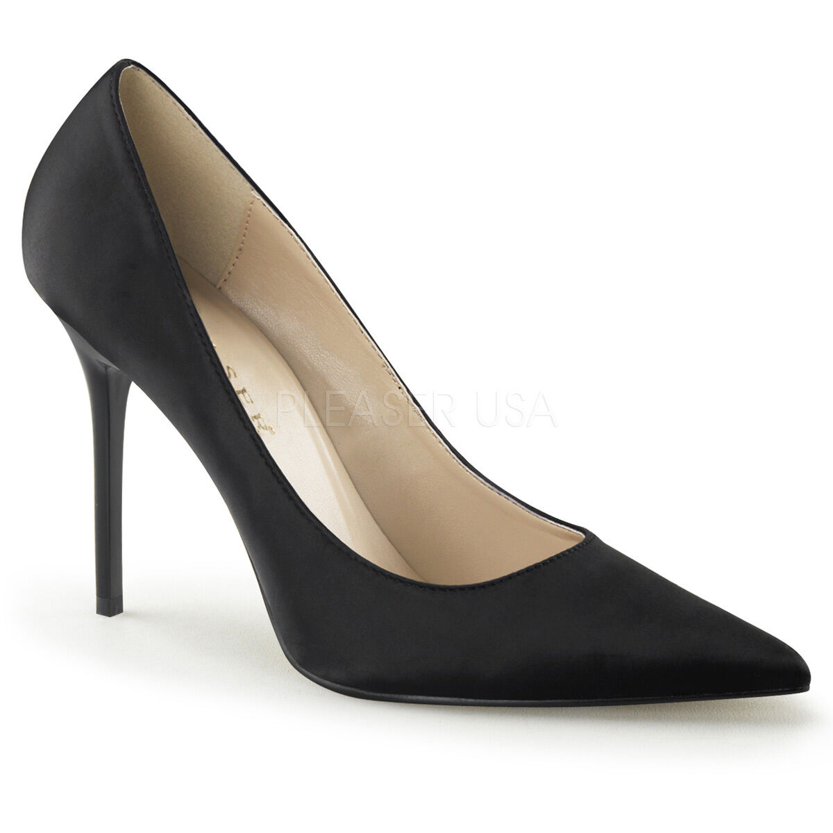 Pleaser Klassik 50.8cm 10.2cm Pumps Stiletto High Heel spitz Pumps 10.2cm Größen 736bec