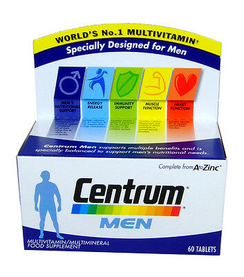 Centrum Men Supplement - 60 Tablets Best Before 12/16 [021561]